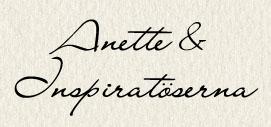Anette & Inspiratöserna sign