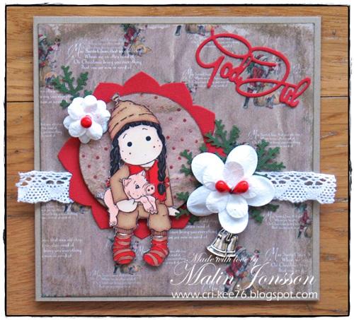Julkort Magnolia