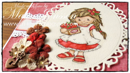 Mimosa med jordgubbar 2