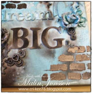 Canvastavla Dream Big 4