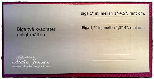 Enkelt ramkort 2
