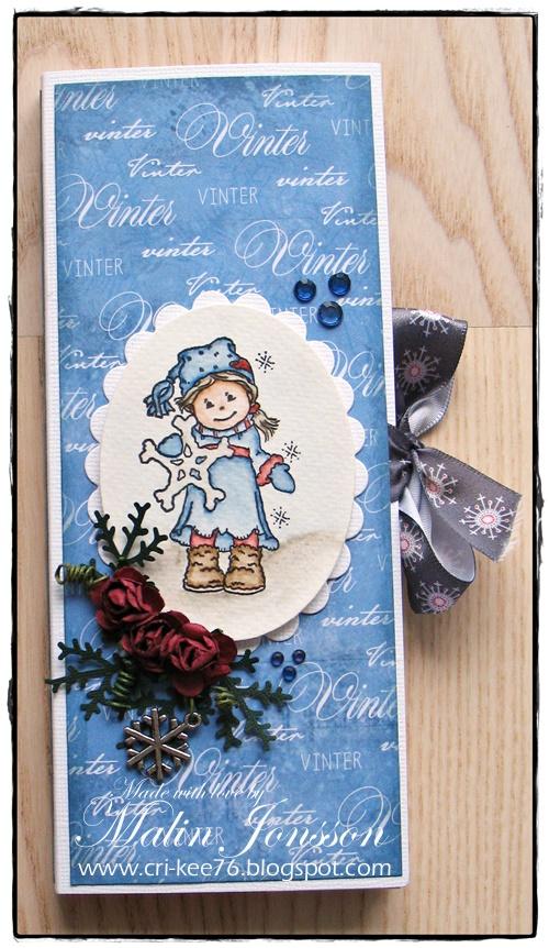 Vinter chokladkort